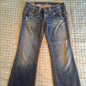 Size 28S Big Star Jeans
